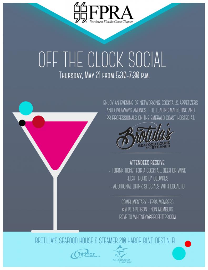 FPRA Off the Clock Social 2015